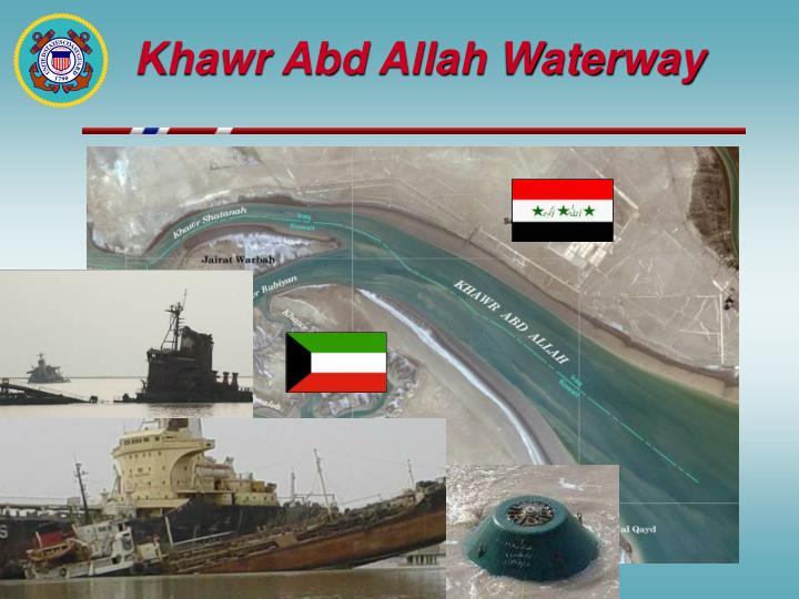 Khawr Abd Allah Waterway