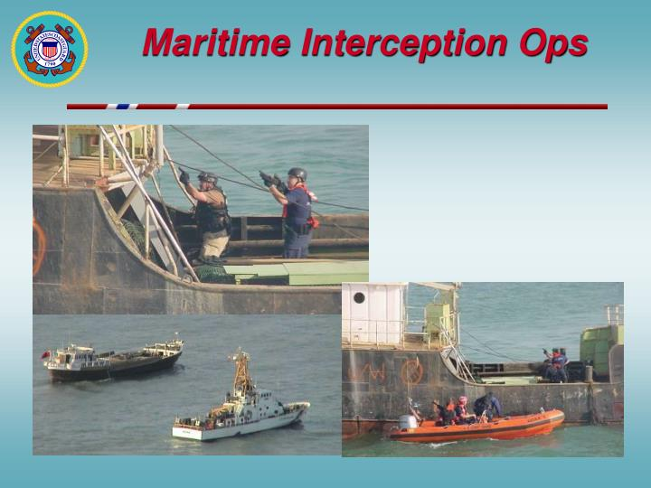 Maritime Interception Ops