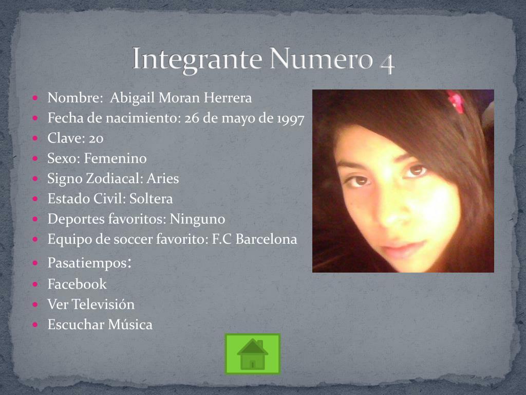 Integrante Numero 4