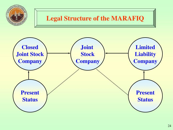 Legal Structure of the MARAFIQ