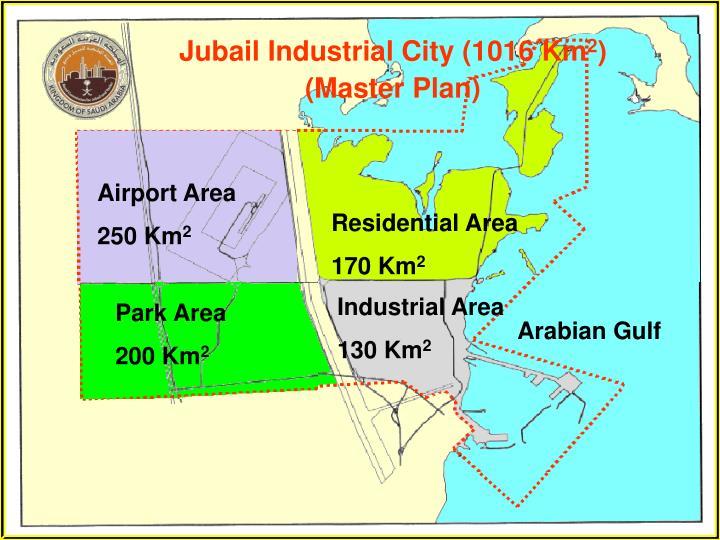 Jubail Industrial City (1016 Km
