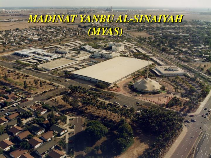 MADINAT YANBU AL-SINAIYAH