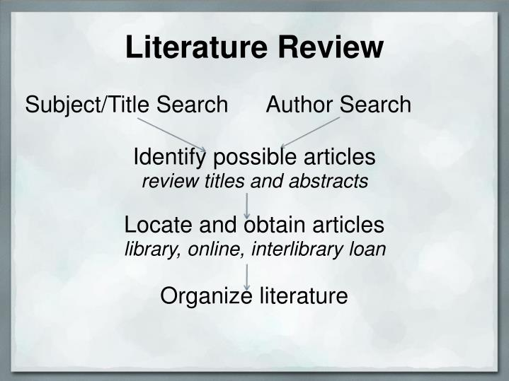 Subject/Title Search      Author Search