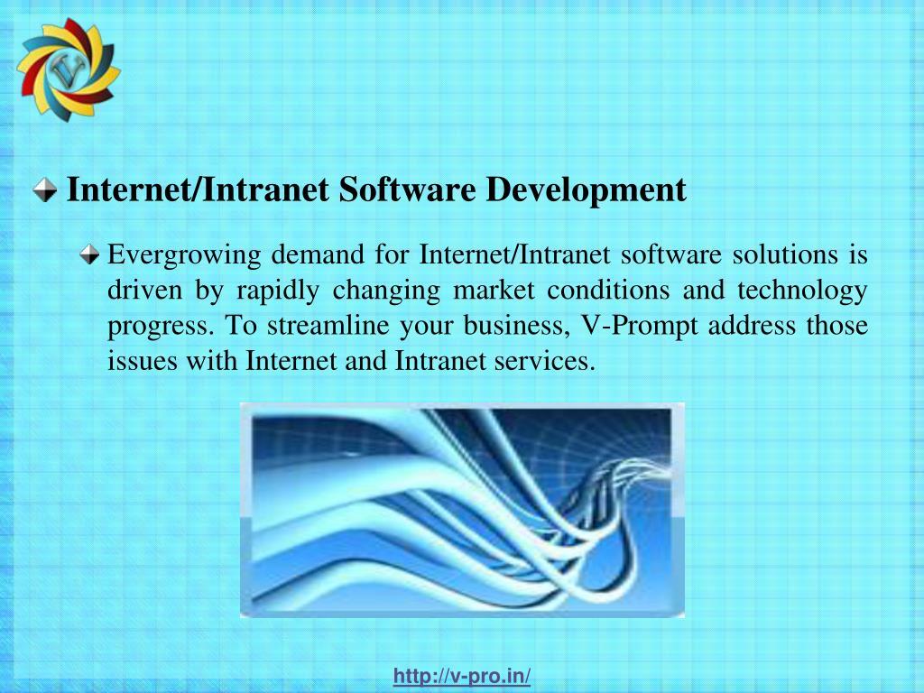 Internet/Intranet Software Development