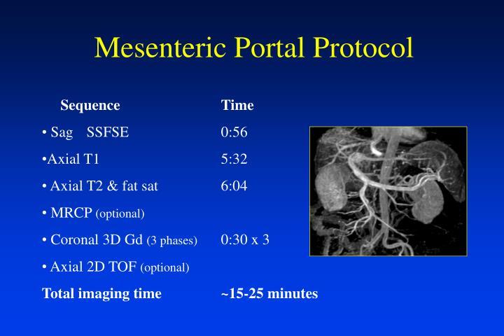 Mesenteric Portal Protocol