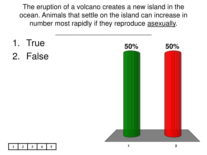 The eruption of a volcano creates a new island in the ocean. Animals that settle on the island can increase in number most rapidly if they reproduce