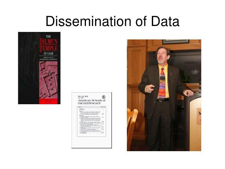 Dissemination of Data