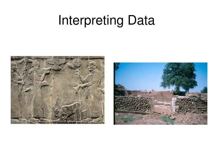 Interpreting Data