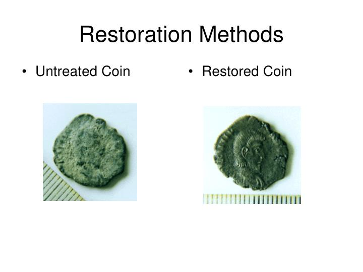 Restoration Methods