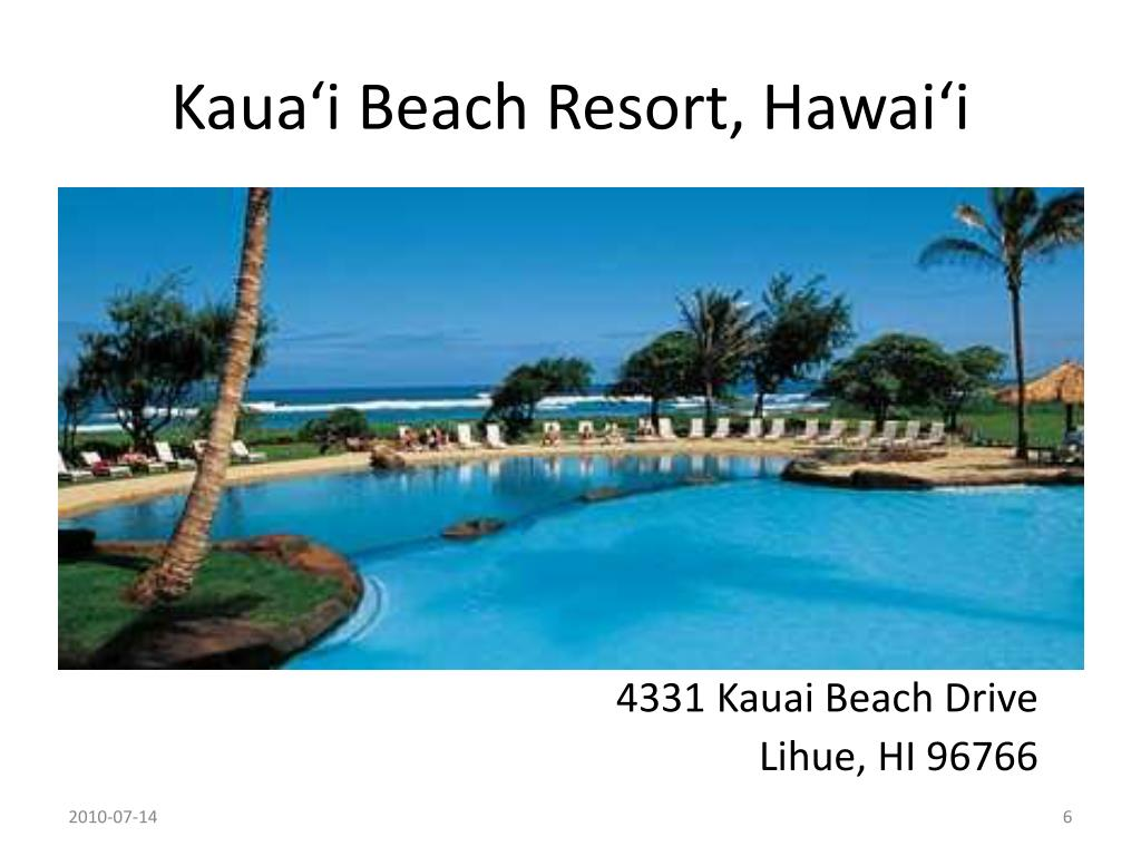 Kaua'i Beach Resort, Hawai'i