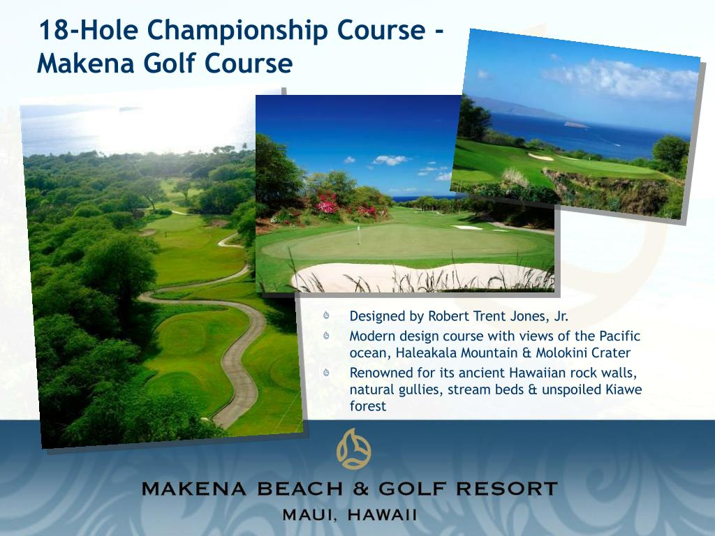18-Hole Championship Course - Makena Golf Course