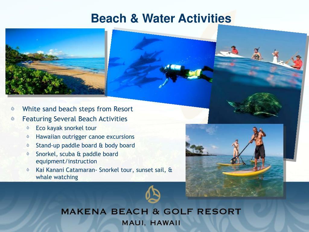 Beach & Water Activities
