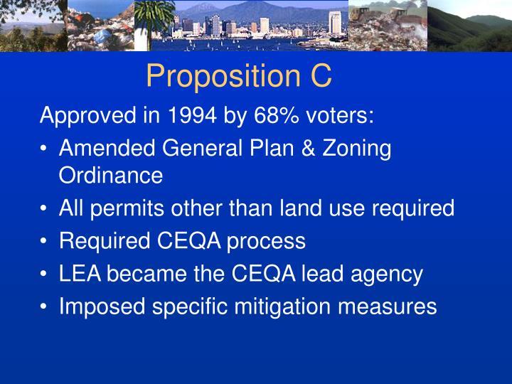 Proposition C
