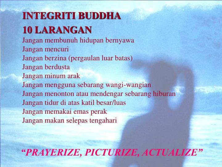 INTEGRITI BUDDHA