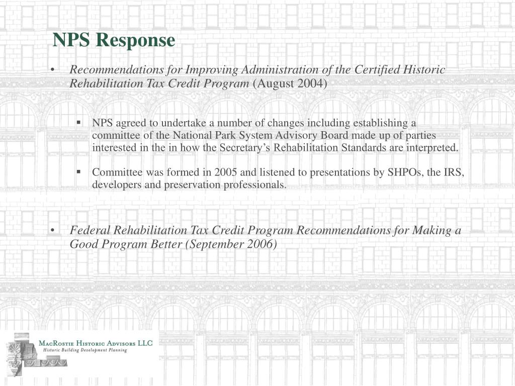 NPS Response