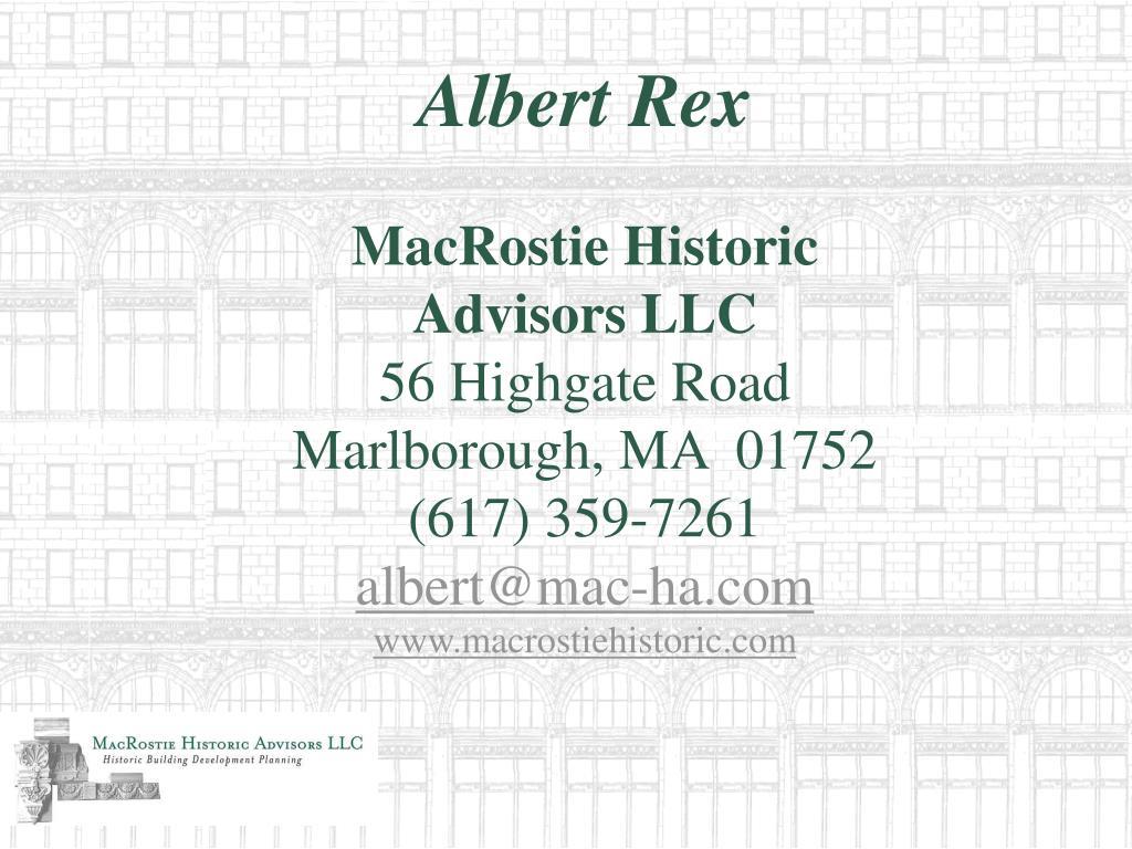 Albert Rex