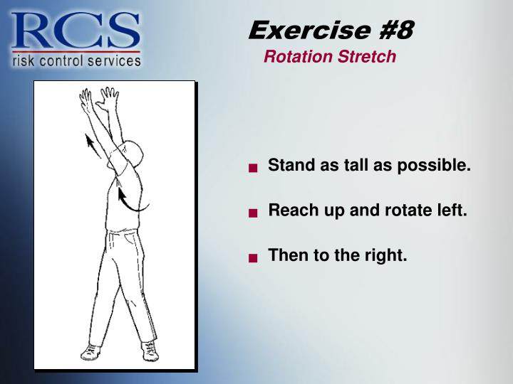Exercise #8
