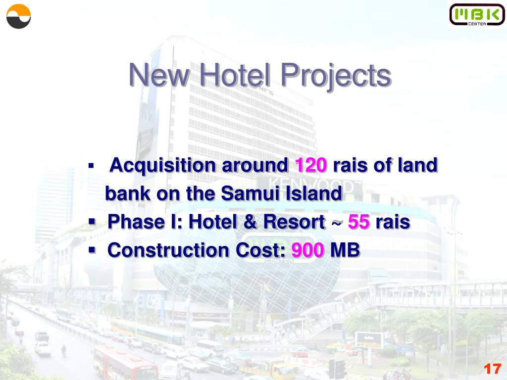 New Hotel Projects