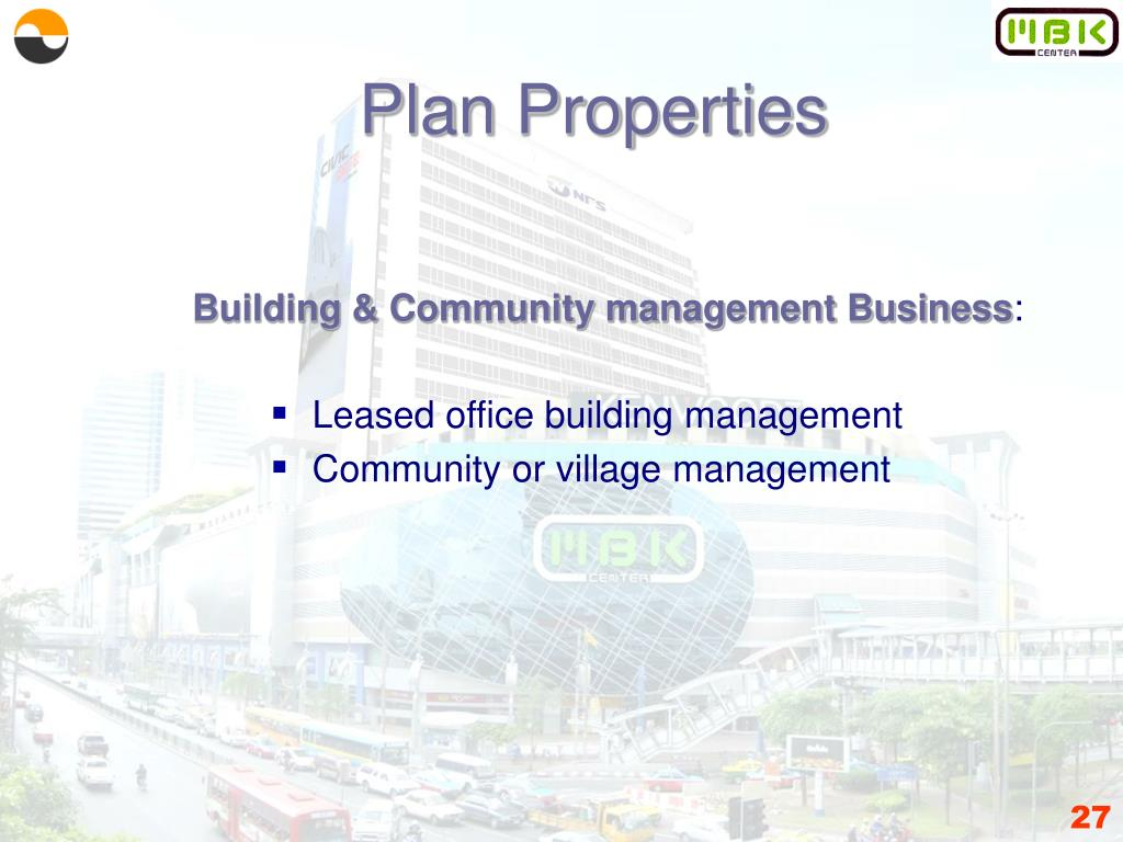 Plan Properties