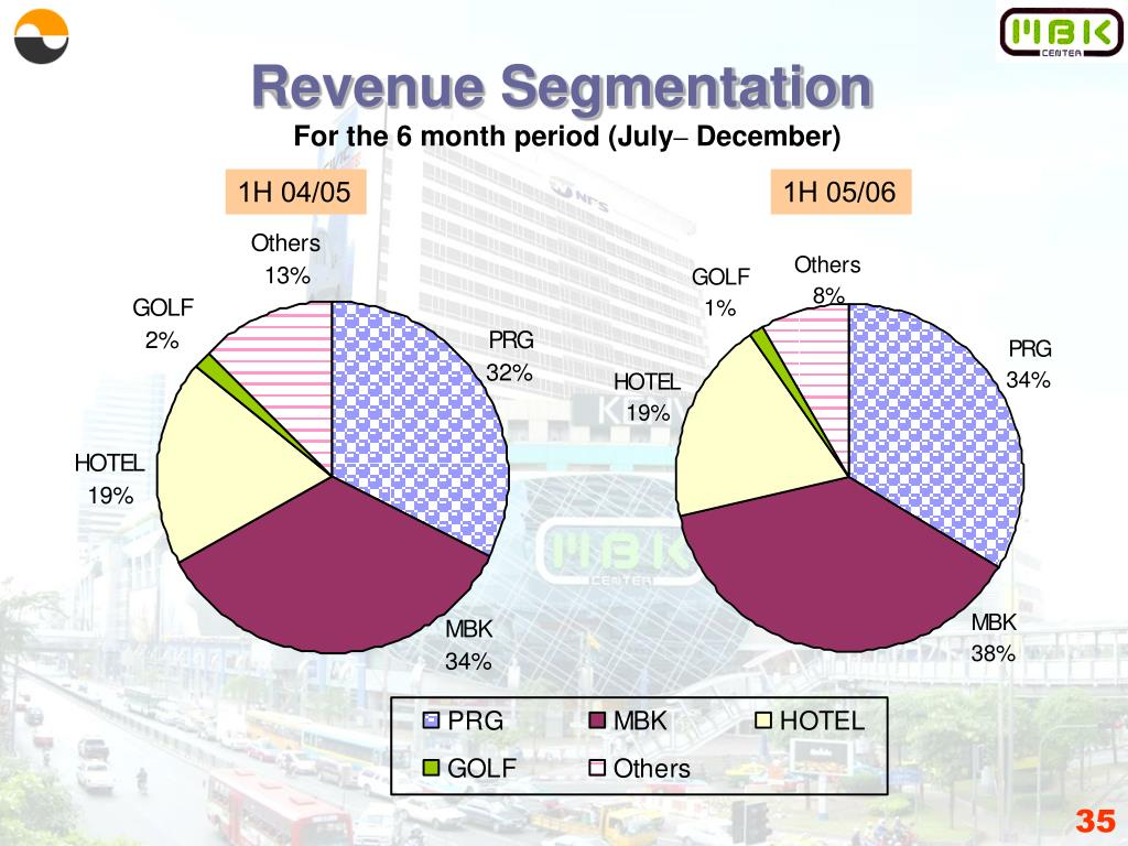 Revenue Segmentation