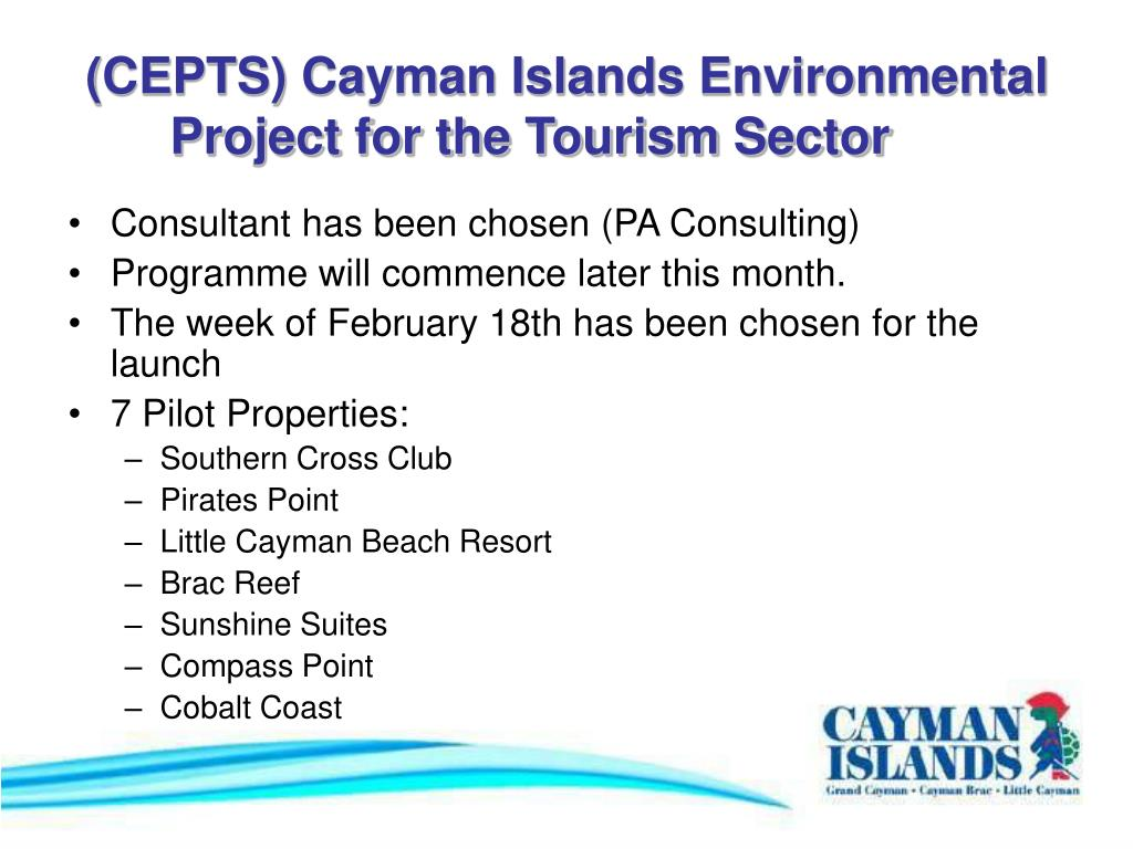 (CEPTS) Cayman Islands Environmental Project for the Tourism Sector