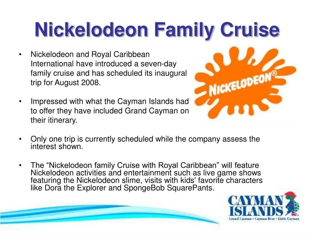 Nickelodeon Family Cruise