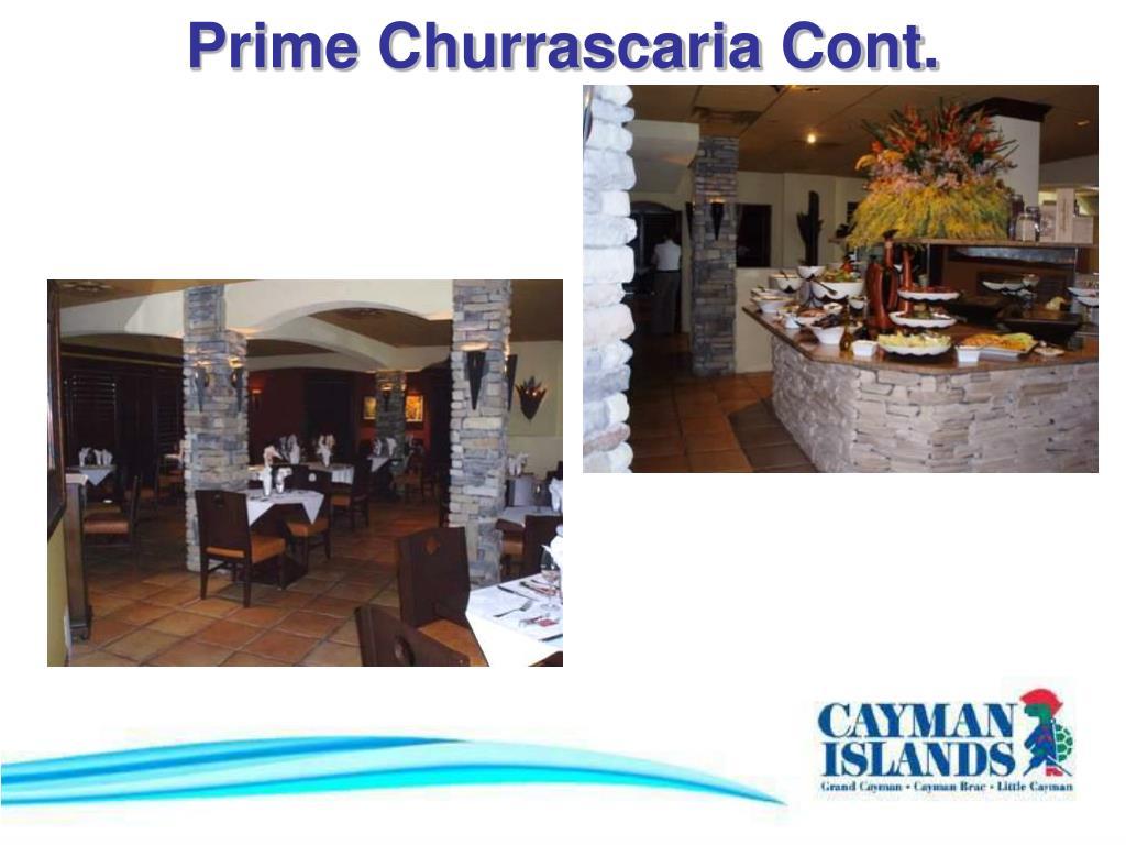 Prime Churrascaria Cont.