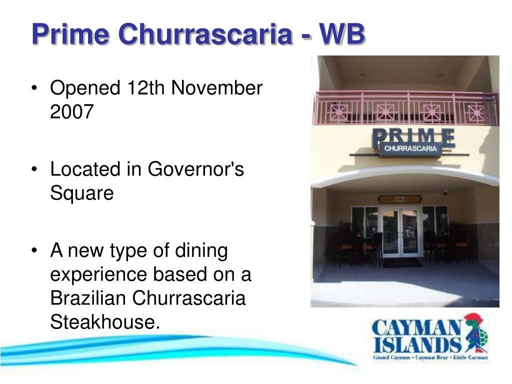 Prime Churrascaria - WB