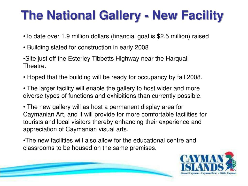 The National Gallery - New Facility