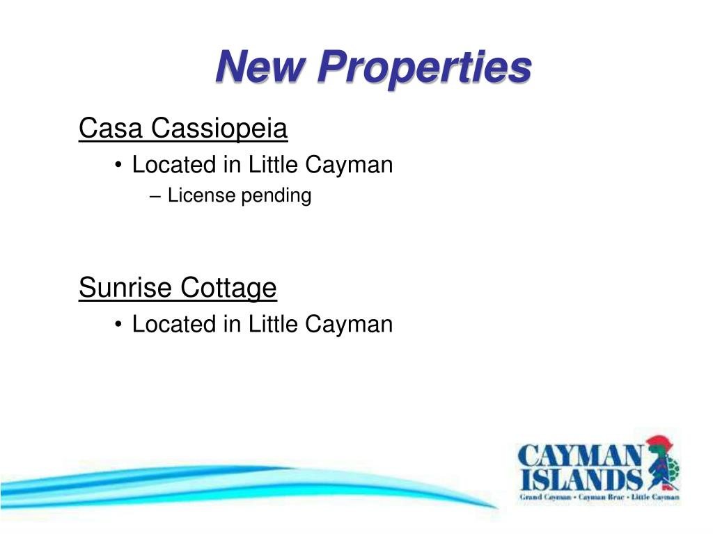 New Properties