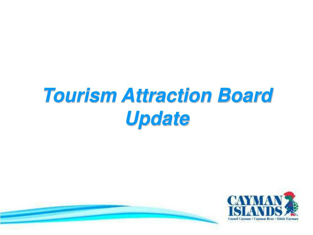 Tourism Attraction Board Update