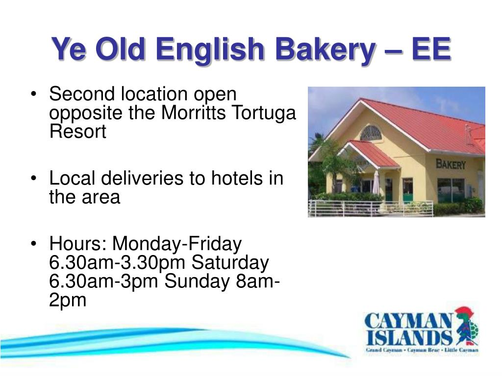 Ye Old English Bakery – EE