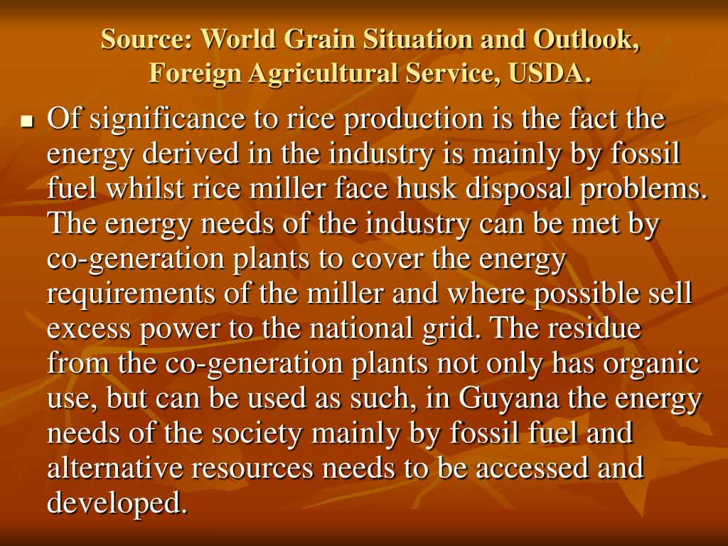 Source: World Grain Situation and Outlook, Foreign Agricultural Service, USDA.