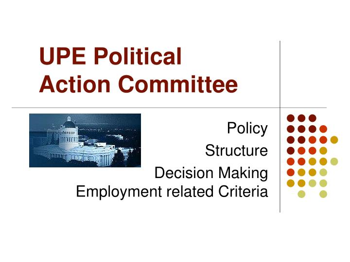 UPE Political