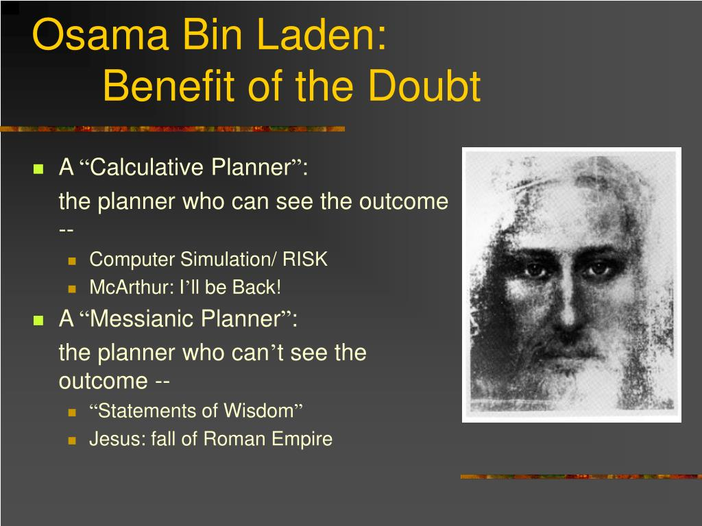 Osama Bin Laden: