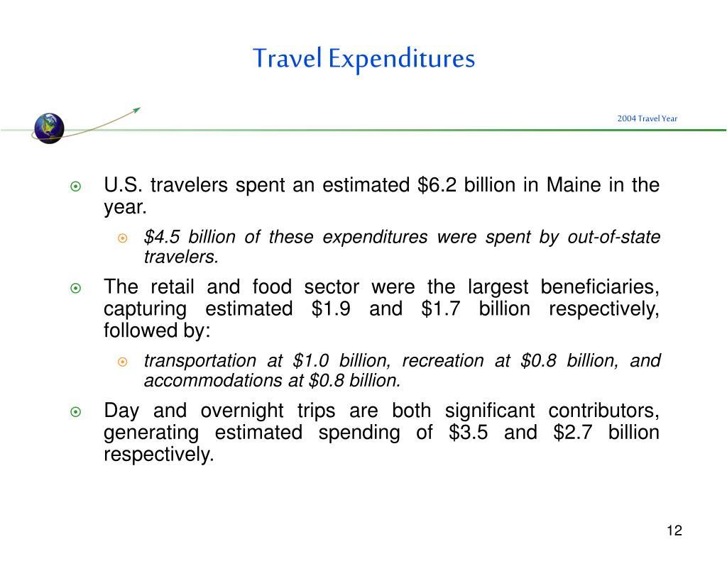 Travel Expenditures