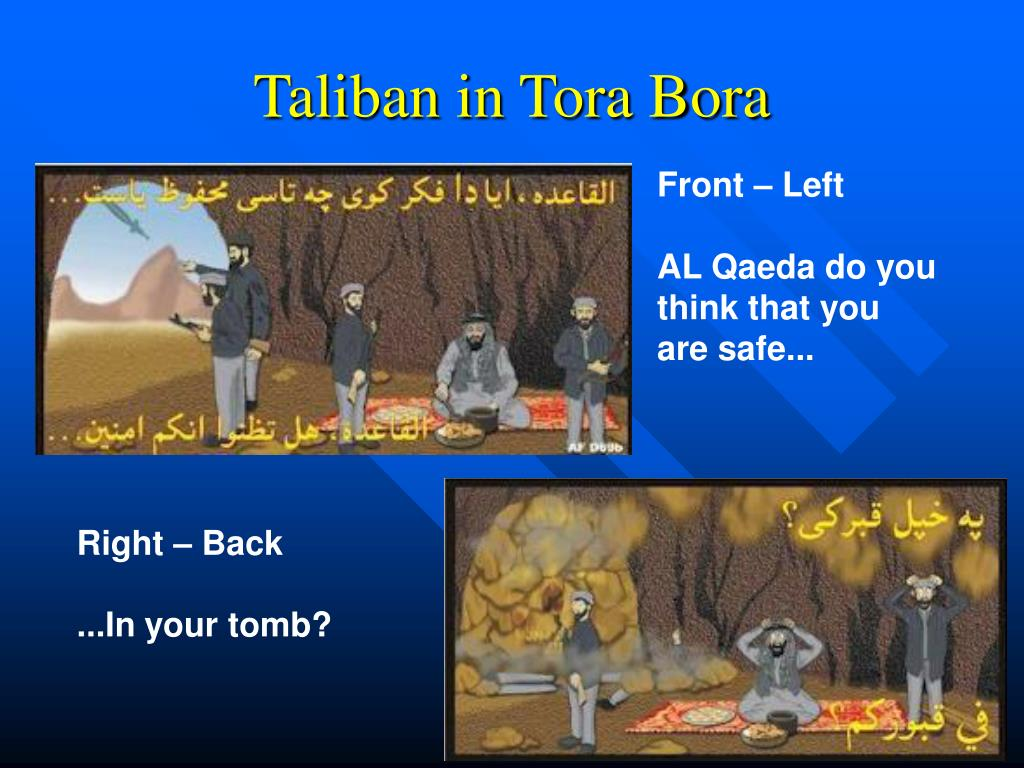 Taliban in Tora Bora