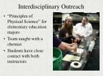 interdisciplinary outreach4