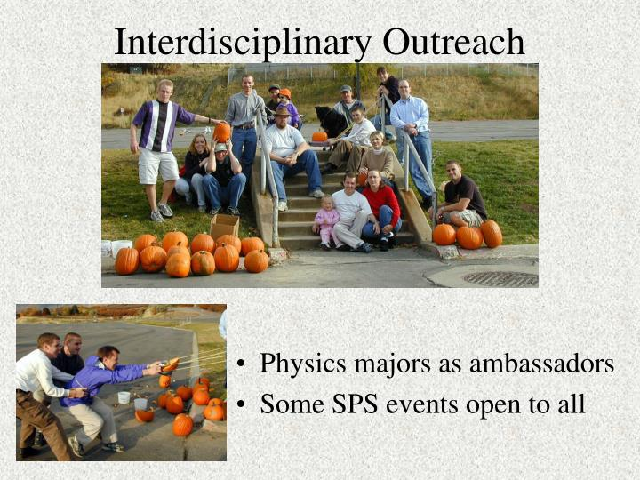 Interdisciplinary Outreach