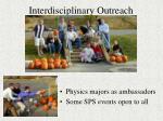 interdisciplinary outreach5