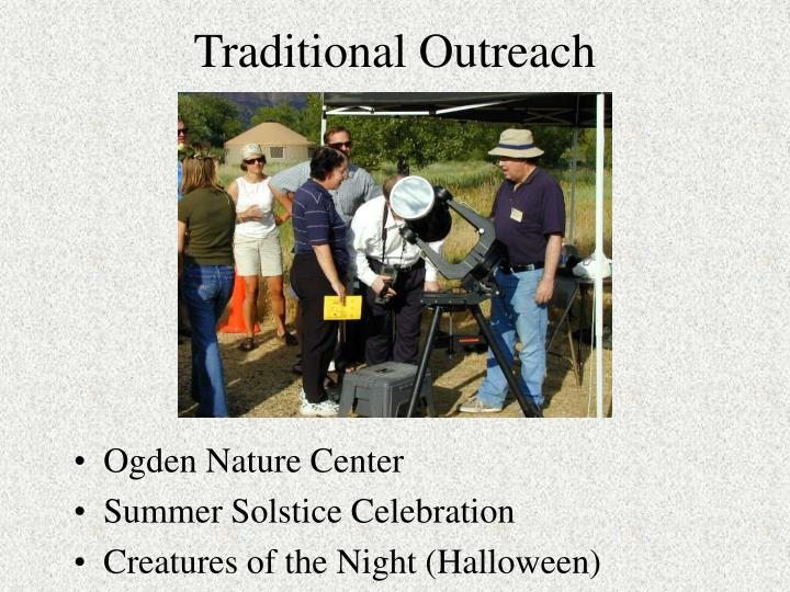 Traditional Outreach