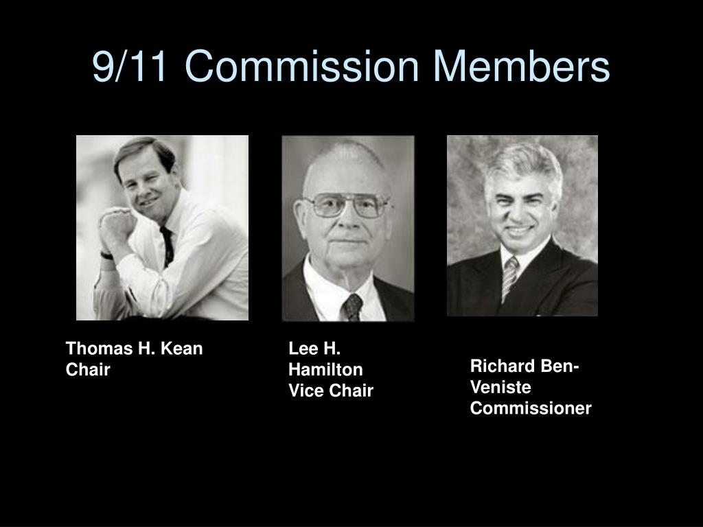 9/11 Commission Members
