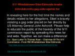 9 11 whistleblower sibel edmonds breaks john ashcroft s gag order against her