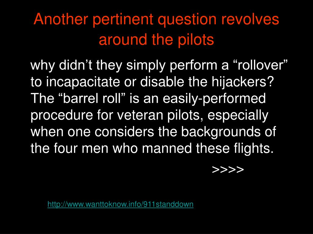 Another pertinent question revolves around the pilots