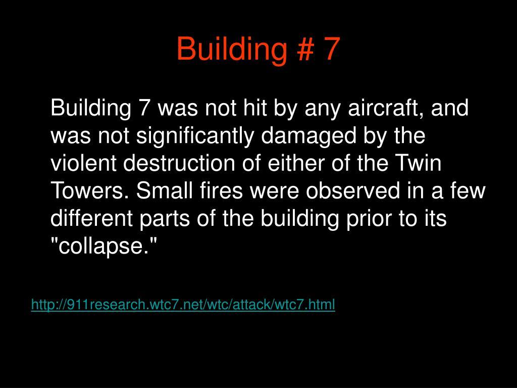 Building # 7