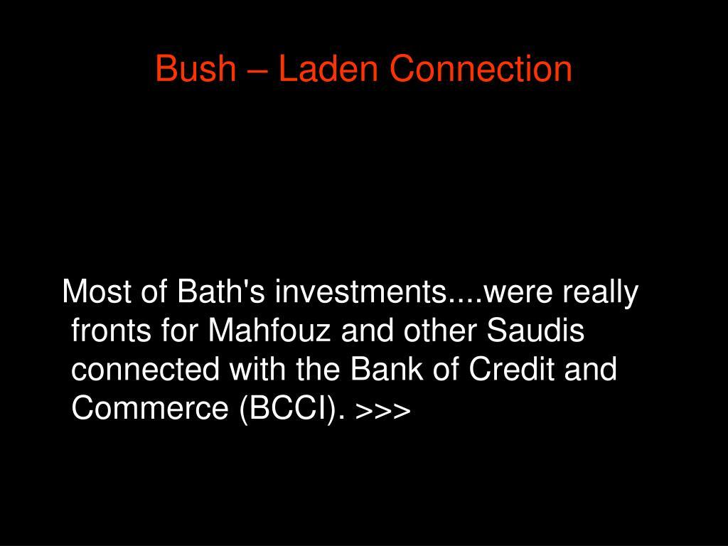 Bush – Laden Connection