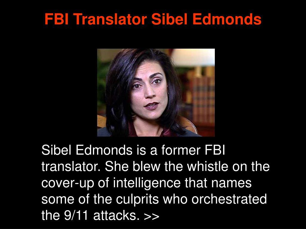 FBI Translator Sibel Edmonds