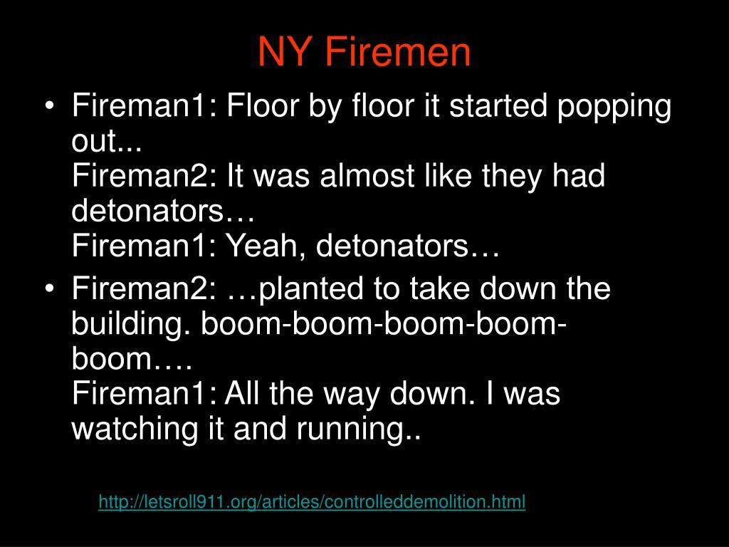 NY Firemen