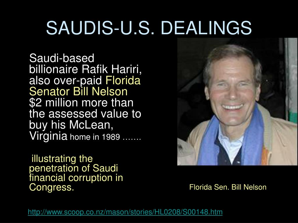 SAUDIS-U.S. DEALINGS
