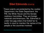 sibel edmonds cont d